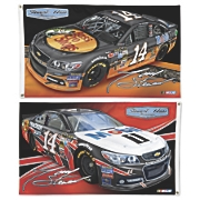 Tony Stewart 14 2 Sided Flag 2013