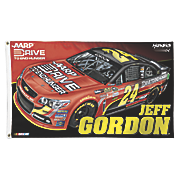 Jeff Gordon 24 2 Sided Flag 2013