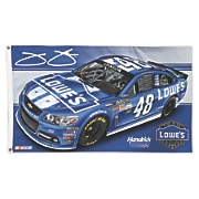 Jimmie Johnson 48 2 Sided Flag 2013