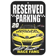 matt kenseth 17 speed limit sign