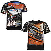 tony stewart 14 aerodynamic sublimated tee