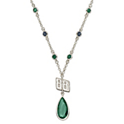 Dale Earnhardt Jr 88 Crystal Necklace