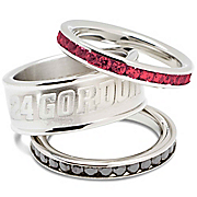 Jeff Gordon 24 Stacked Ring Set
