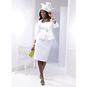 Tobay Skirt Suit And Sharise Hat