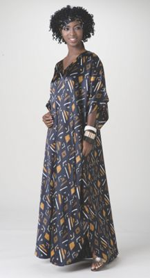 Black Beauty Caftan
