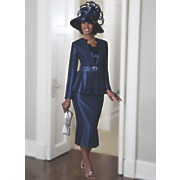 Rachel Skirt Suit and Hat