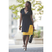 Plus-Size Dress Goes from Desk to Dinner, Editor's Pick @ ElegantPlus.com