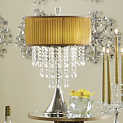 Table Lamp Crystal Drop