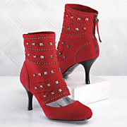 Shoe Boot Studded By Midnight Velvet
