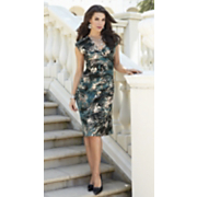 Dress Teal Animal