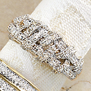 Ring Diamond Braid