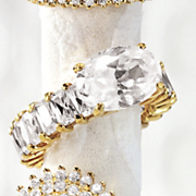 Ring Oval Baguette Eternity