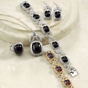 Cabochon Crystal Jewelry