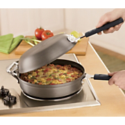 3 In 1 Hard Anodized Fritatta Pan