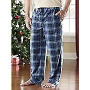 Pant Micro Fleece Plaid
