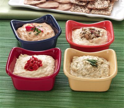 Rachael Ray Dip Cups Square Set Of 4