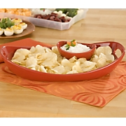 Rachael Ray Chip N Dip Server
