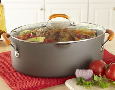 Rachael Ray Stock Pot Oval 8 qt