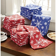Towel Set, 12-Piece Snowflake