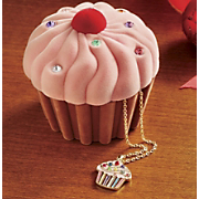 Necklace Cupcake and Box Set