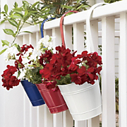 Set Of 3 Planter Buckets