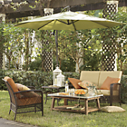 Ashton Outdoor Furniture Cushions and Umbrella