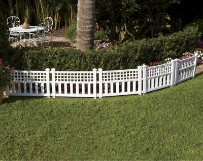 Set Of 5 Delray Resin Fencing