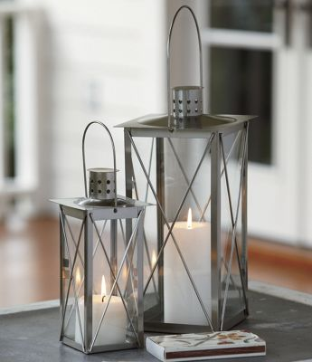 Set Of 2 Candle Lanterns