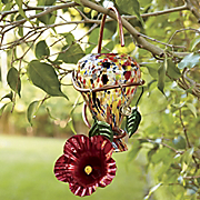Ruby Swirl Hummingbird Feeder