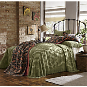 Chenille Diamond Throw style Bedding