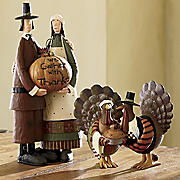 Williraye Studio Thanksgiving Figurines