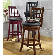 Stool Lattice Back Swivel