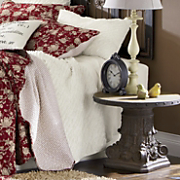 Karalee Oversized Handcrafted Ruffled Quilt And Sham