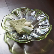 Sculpture Glass Poppy