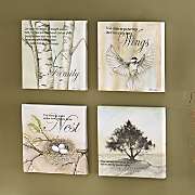 Canvas Prints Family Set Of 4