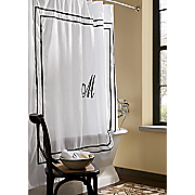 Monogrammed Shower Curtain 72 X 70