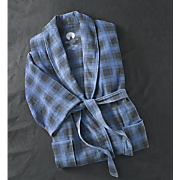 Robe Plaid Fleece