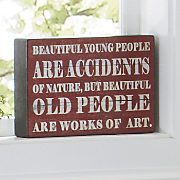 beautiful people sign