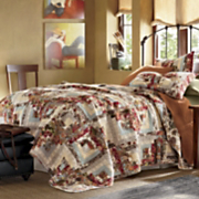 Montrose Oversized Reversible Cotton Quilt And Sham