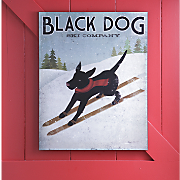Plaque Black Dog Ski Company
