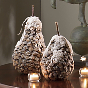 Snowy Pears, Set of 2
