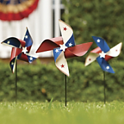 Set Of 3 Star Pinwheels