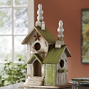 decorative birdhouse