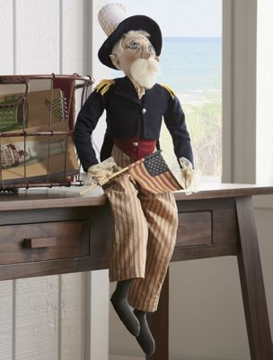 Uncle Sam Shelf Sitter