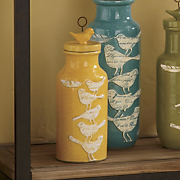 adelaide yellow birdy jar