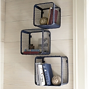 set of 3 wall cubbies