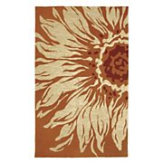sunflower anywhere rug