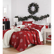 Snowflake Bedding And Snow Sham