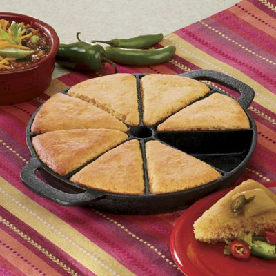 Cast Iron Cornbread Pan 1