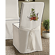 Pumpkin Table Runner And Chair Cover